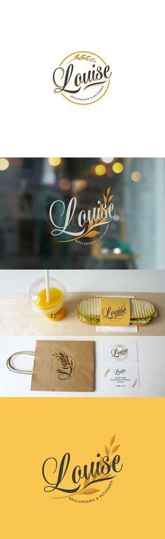 Louise Patisserie Branding on Behance More