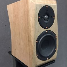 "3 Likes, 2 Comments - Michael Lenehan (@lenehanaudio) on Instagram: ""ML1Reference in Solid Tasmanian Oak ! 17mm and 34mm thick . No Veneer here Lads . 8mm , 4mm and 3mm…"""