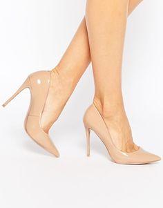 Zapatos de salón de tacón en cuero rosa claro Stessy de ALDO
