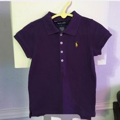 Girls RL top Only one twice like new condition no rips stains or fading Ralph Lauren Tops Button Down Shirts
