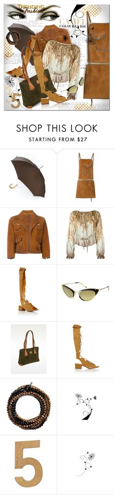 """""""DSQUARED 2, Calf Leather Skirt & Suede Jacket"""" by deneve ❤ liked on Polyvore featuring Etro, Dsquared2, Zara, Yves Saint Laurent, Tom Ford, Bric's, Brunello Cucinelli and polyvoreeditorial"""