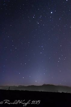 Photo by Earthsky facebook friend Randall Kayfes, looking eastward in the predawn/dawn sky. Thank you Randall! The star Regulus, the brighte...