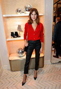 Time for Fashion » Avisadas quedáis: estos días os vais a encaprichar de una rebequita roja