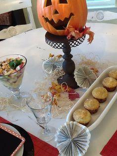 Halloween Breakfast and Centerpiece Wednesday