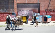 Como um artista decidiu usar lixo para mudar a vida de moradores de rua