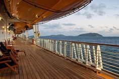 I've never been on a cruise, and I'm pretty intimidated by deep water, but there's something about the lines of the ship.  The beautiful lines of floor and ceiling and rail that are mesmerizing.