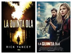 Rick Yancey - La quinta ola (Book vs Film)