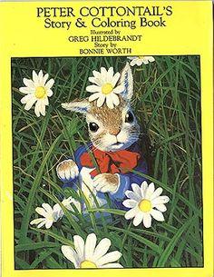 Peter Cottontail Coloring Book, Greg Hildebrandt