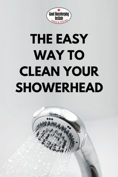 Household cleaning hacks: how to clean a showerhead with vinegar - the simple and easy trick to get rid of limescale