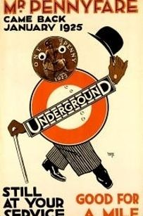 1923/1925.   The Evolution Of London's Most Powerful Logo