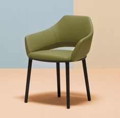 VIC Upholstered easy chair by PEDRALI design Patrick Norguet