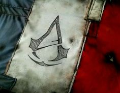 Assassins creed unity. France flag