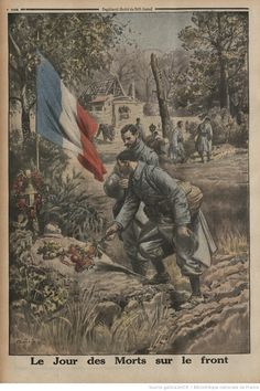 """ The Day of the Dead at the Front. World War One, First World, Flanders Field, French Colonial, History Photos, Military Art, Wwi, Art Reference, 1914 1918"