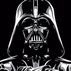 "STAR WARS - ""DARTH VADER"" SIZE: 14 X 14 