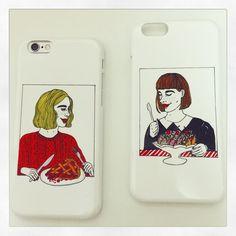 iphone6 case collaborate with point inc. #helmetundergroundandriko #cherrypie #sundae by rikohelmet