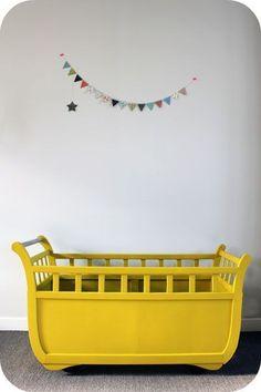 The most beautiful yellow crib  #babyroom #nursery #design #moderndesign #luxury #baby #room #nurseryideas. See more inspirations at www.circu.net