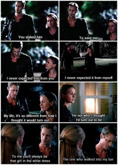 True Blood - I loved this part so much! Probably my favorite part of the entire episode. #TeamEric