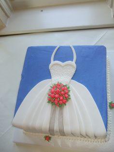 My bridal shower cake