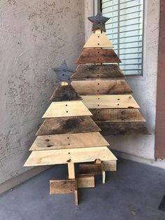 This Christmas tree decoration looks great anywhere during the Christmas season! It comes with a water repellent coating, so you can display it indoors or outdoors. Overall Dimensions 30 H x 25 W or 42 H x 28 W