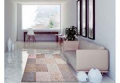 Dywany Very :: Dywan naturalny vintage patchwork 8238 LightPink - beżowo różowy - Carpets&More - wysokiej klasy dywany i akcesoria tekstylne