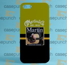 Mz4-martin & Co Acoustic Guitar For Iphone 6 6 Plus 5 5s Galaxy S5 S5 Mini S4 & Other Smartphone Hard Back Case Cover