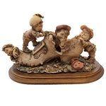 Guiseppi Armani Gullivers World Sculpture Four Boys (09/29/2013)...
