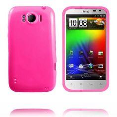 Candy Colors (Hot Rosa) HTC Sensation XL Deksel