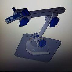 Futuro control del #ugv intuitivo para que los niños  lo controlen de manera sencilla. #kids #robotic #educative #robotarm #cinematic #engineering #engineer #mechanic #electronic #raspberrypi #arduino #openhardware #control by artilugiosencasa