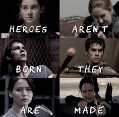 Heroes aren't born - they're made