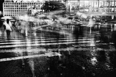 Striking Black & White Photographs Capture the Chaotic Streets of Tokyo