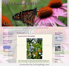 Gardening Blogs, Nova Scotia, Perennials, Geek Stuff, Plants, Geek Things, Flora, Plant