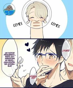 Imágenes de Yuri on ice #detodo # De Todo # amreading # books # wattpad Anime Dad, Otaku Anime, Anime Manga, Anime Meme, Yuri No Gelo, Manhwa, Yuri On Ice Comic, Yuri Katsuki, ユーリ!!! On Ice