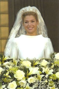 A Lovely Bride Princess Maxima of The Netherlands