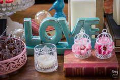 Mesa de Doces / Mesas do Bolo / Decoração de Casamento DIY