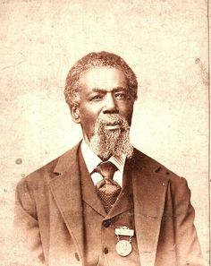Thomas Mundy Peterson, first African American to vote, March 31, 1870. yup, African American men were given the right to vote before women of any color.
