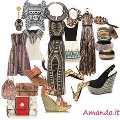 Stile etno chic    http://www.amando.it/moda/consigli/moda-etnica-tribale.html