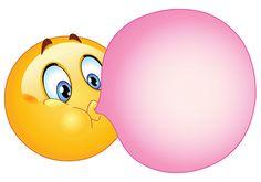 Bubblegum smiley