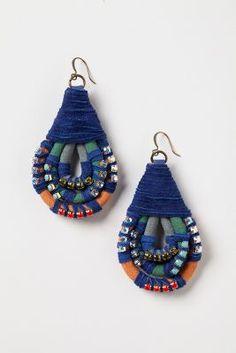 Diy earrings 454019206154164977 - Topkapi Bound Earrings Source by Fabric Earrings, Beaded Earrings, Beaded Jewelry, Handmade Jewelry, Handmade Beads, Pearl Jewelry, Stone Jewelry, Jewelry Crafts, Jewelry Art