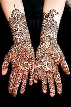 Bridal Mehndi Designs For Hands And Feet 2014 Images 08