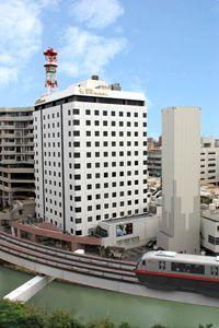 ホテルサン沖縄外観 / HotelSun Okinawa, Naha