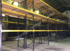 Second hand pallet racking looks like new - customer very pleased. Pallet Racking, Storage Design, Project Management, Lockers, Shelving, Projects, Furniture, Home Decor, Homemade Home Decor