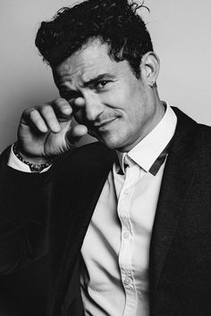 Orlando Bloom, by Francois Berthier at The American Film Festival of Deauville