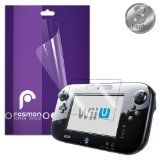 Fosmon Crystal Clear Screen Protector Shield for Nintendo Wii U GamePad - 3 Pack - #NintendoWii #NintendoWiiaccessories #NintendoWiigames -   Fosmons screen protectors are custom made to fit your Nintendo Wii U GamePad. Extend the lifetime of your Wi  - Click pics for bargain price's <3