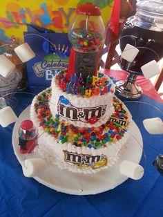 M&M cake....