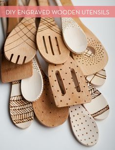 Make It: DIY Engraved Wooden Spoons » Curbly | DIY Design Community