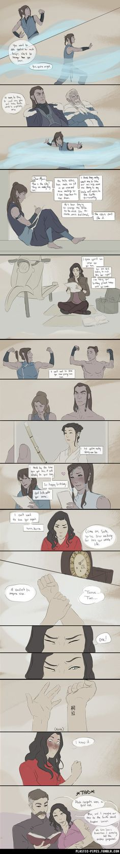 Korrasami Month: superhero promptKorra is a superhero. Asami and her have been paired up to do a project for school, while on her way over to work on said project, Asami discovers her secret. on tu...