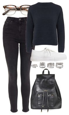"""""""Untitled #5765"""" by rachellouisewilliamson on Polyvore featuring Topshop, Eytys and Forever 21"""