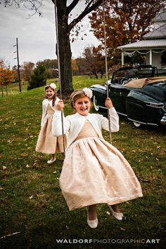 Flower girl dresses for farmhouse vintage wedding