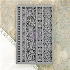 Prima - Iron Orchid Designs - Vintage Art Decor Mould - Moulding Dress up your next mixed media project with details from the Moulding 1 Vintage Art Decor Mould by Iron Orchid Designs for Prima! The package includes one x silicone mold for Arts And Crafts Furniture, Arts And Crafts House, Arts And Crafts Supplies, Diy Arts And Crafts, Home Crafts, Diy Crafts, Party Crafts, Crafts For Teens To Make, Crafts To Sell