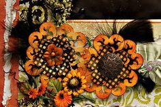 Scraps of Darkness & Scraps of Elegance - Hearts A Glow Flower Tutorial